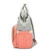 Сумка-рюкзак для Мам арт: 2106 Полоска + Зеленый