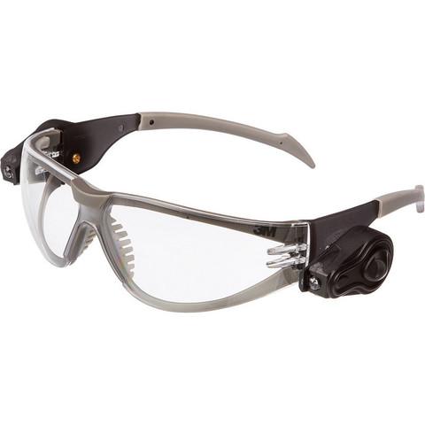 Очки защитные открытые универсальные 3M Led Light Vision прозрачные (11356-00000M)