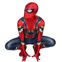 Мужской костюм Железный Человек-паук из