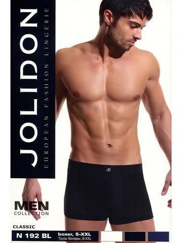Мужские трусы Boxer N192BL Jolidon
