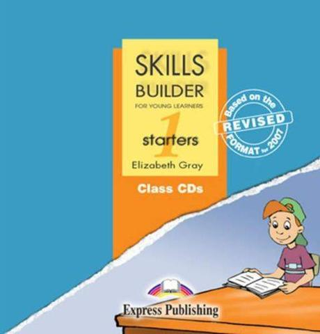 Skills Builder STARTERS 1. Class Audio CDs. (set of 2). Аудио CD для работы в классе