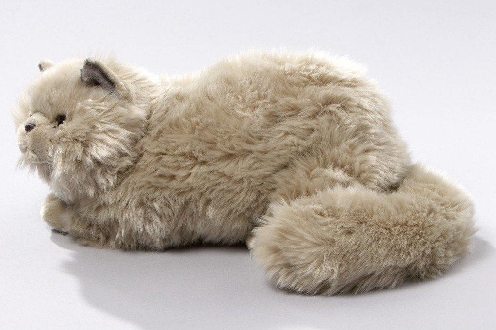 Мягкая игрушка Кот лежащий 30 см (Leosco)