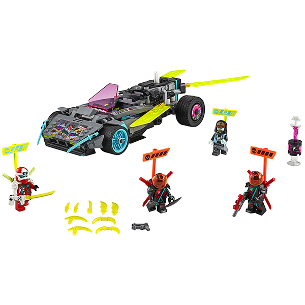 LEGO Ninjago 71710 Конструктор ЛЕГО Ниндзяго Специальный автомобиль Ниндзя