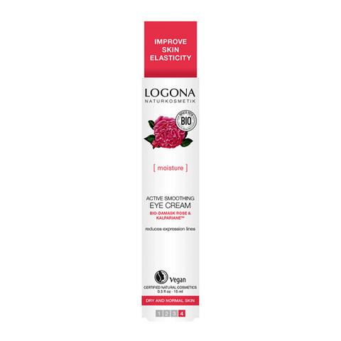 Logona Крем для увлажнения и активного разглаживания кожи вокруг глаз