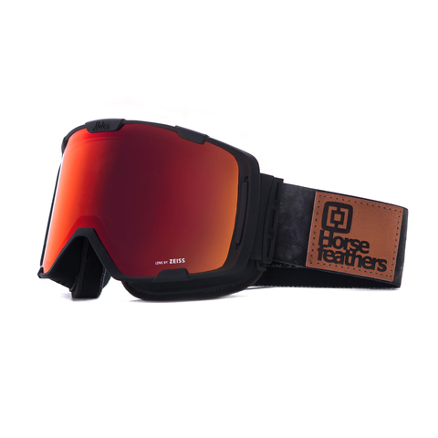Маска Horsefeathers PARKER GOGGLES (gray camo/red chrome)