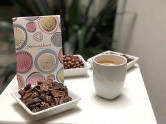 Кофейные зерна в молочном шоколаде 100 г, Чехия