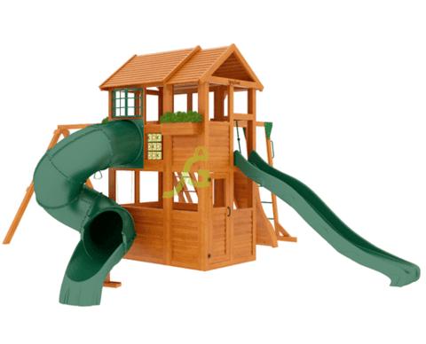 Детская площадка Клубный домик 2 с трубой и рукоходом