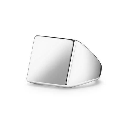 Кольцо-печатка SQUARE