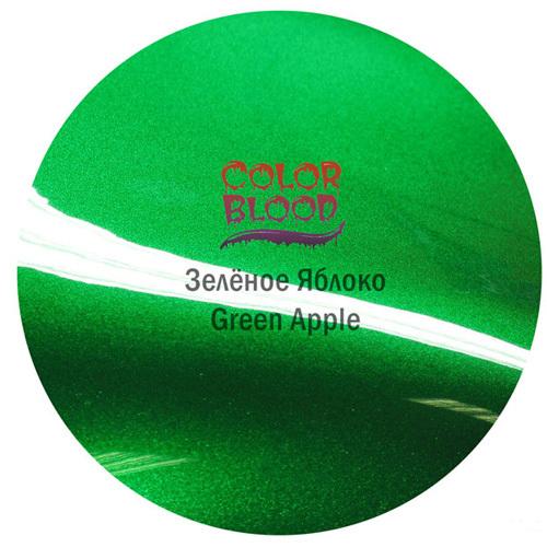 Color Blood (Bugtone) Краска Color Blood Green Apple базовая прозрачная (кенди) Зеленое яблоко, 50мл CB384450.jpg