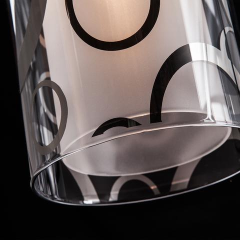 Подвесной светильник 50000/1 хром