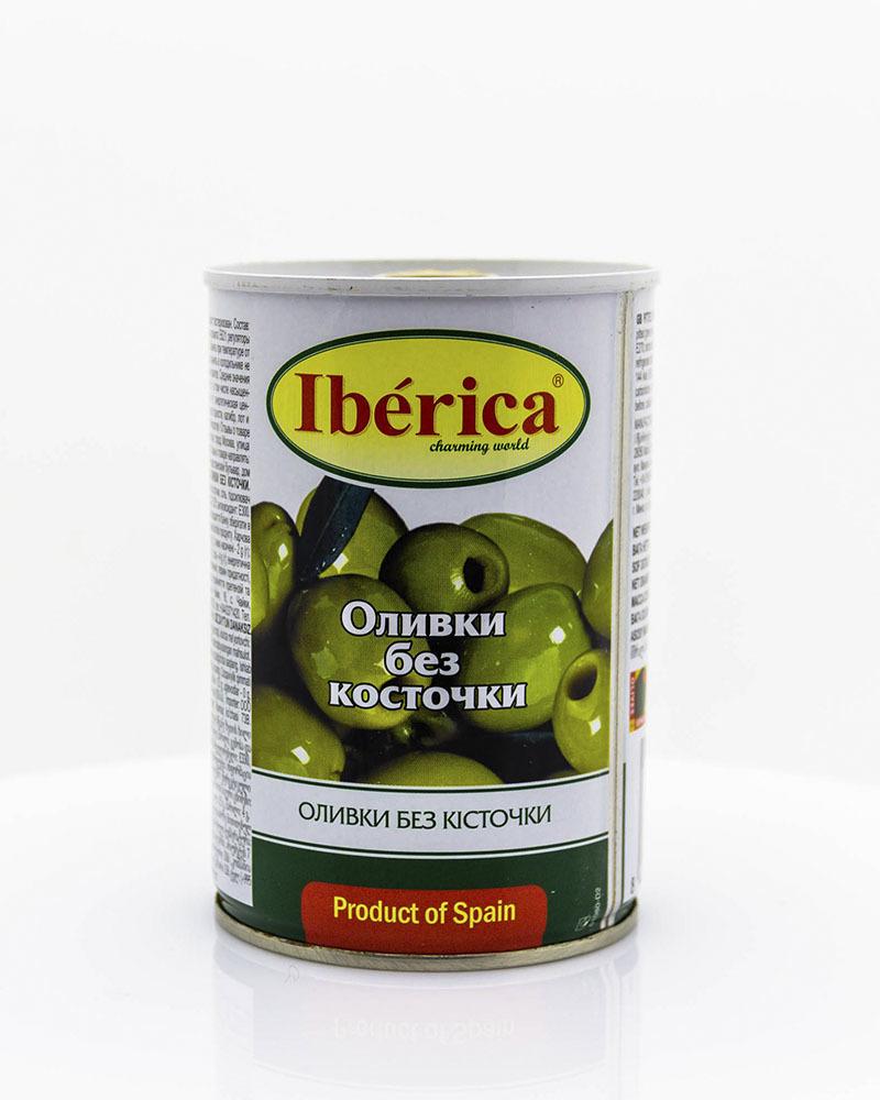Оливки Iberica без косточки 420 гр.