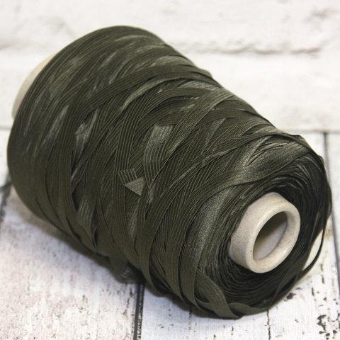 Ленточный шелк (100%) NATURAL FANTASY / GARZA темно-зеленый