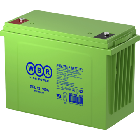 Аккумулятор WBR GPL 121500A