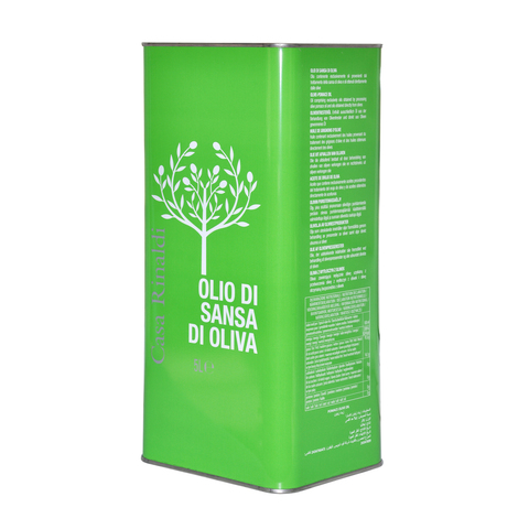 Масло оливковое рафинированное 5 л (OLIO DI SANSA E OLIVA 5L)