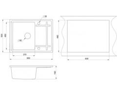 Мойка Granula 6501 - схема