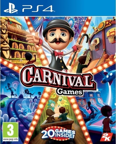 Carnival Games (PS4, английская версия)