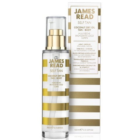 James Read Self Tan Coconut Dry Oil Tan Сухое кокосовое масло с эффектом загара