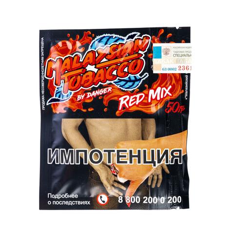 Табак Malaysian Tobacco 50 г Red Mix (Грейпфрут)