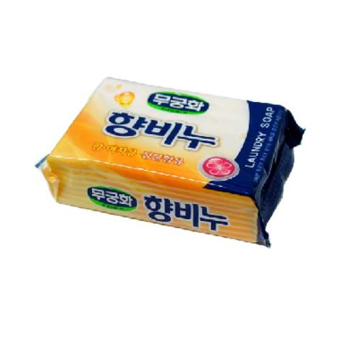 Мыло хозяйственное АРОМАТИЗИРУЮЩЕЕ MUKUNGHWA Laundry soap, 230 гр
