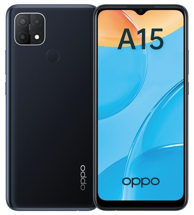 Oppo A15 Oppo A15 2.32GB Black (Черный) black1.jpg