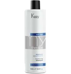 KEZY mytherapy anti-age hyaluronic acid Bodifying shampoo Шампунь для придания густоты истонченным волосам с гиалуроновой кислотой 1000 мл.