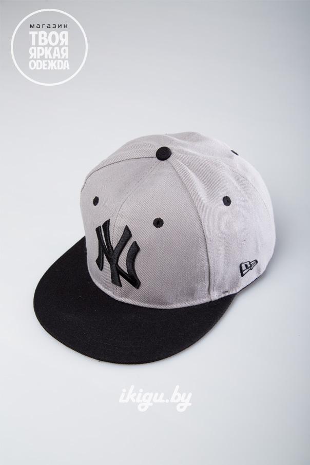 """Кепки Кепка """"NY"""" Серая NY_grey.jpg"""