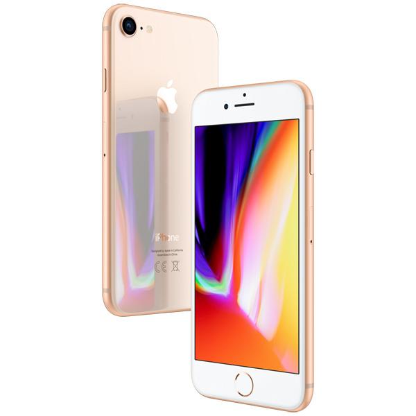 iPhone 8, 128 ГБ, золотой