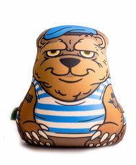 Подушка-игрушка антистресс Gekoko «Медведь-вдвшник» 2