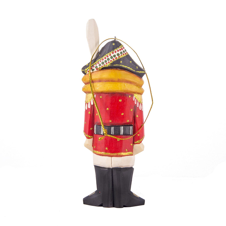Ёлочная резная игрушка Щелкунчик на елку