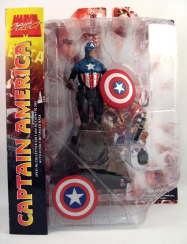 Марвел Селект фигурка Капитан Америка Баки Барнс — Marvel Select Captain America Bucky Barnes