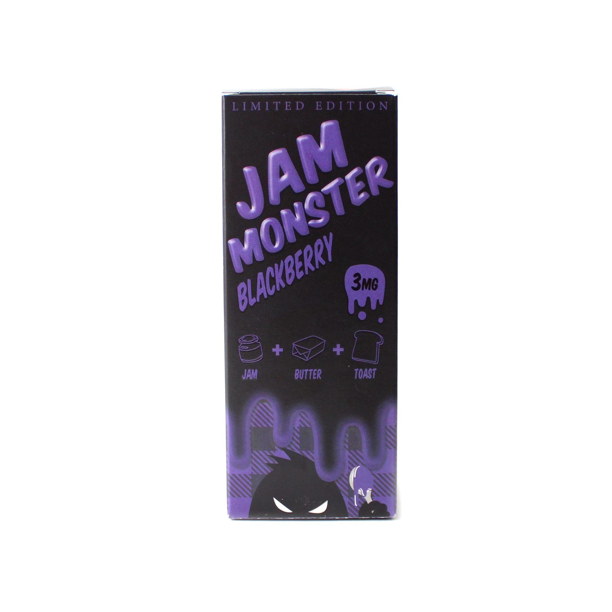 Жидкость Jam Monster Blackberry