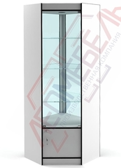 ВУ-164-С Витрина стеклянная  угловая серия