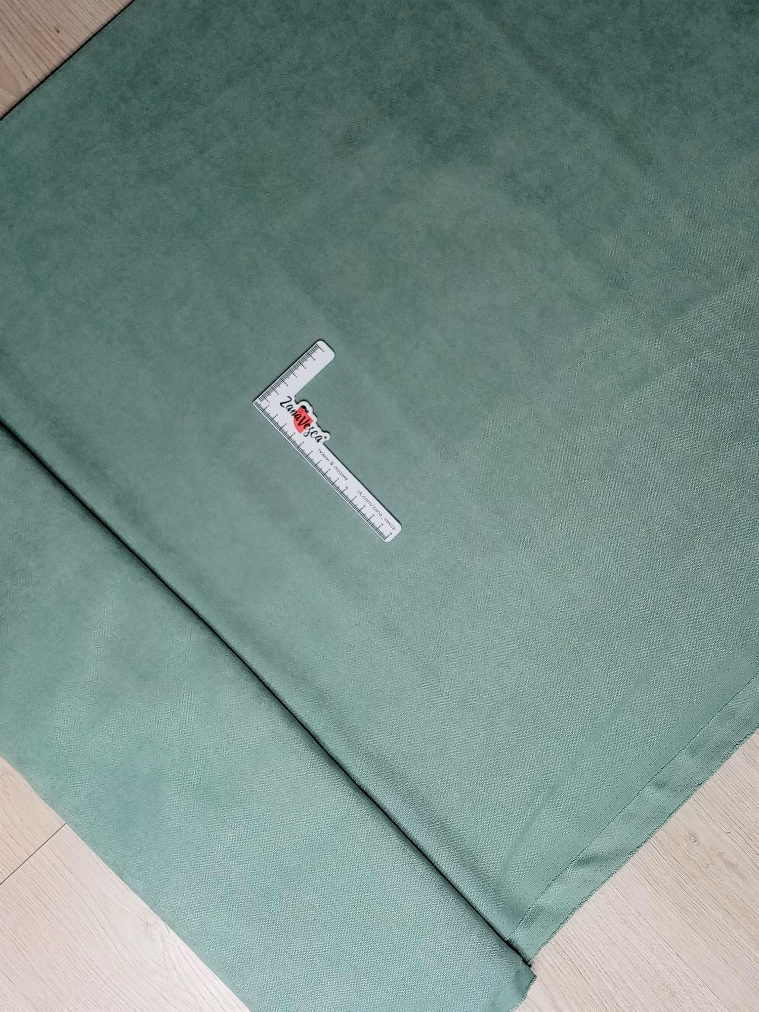 Канвас-велюр Цвет полыни