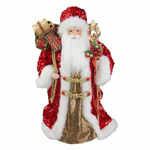 Дед Мороз в красной шубе