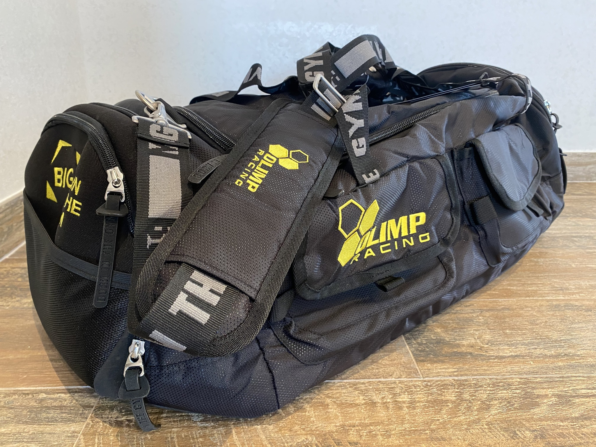 Сумка Olimp MULTIFUNCTIONAL RACING DUFFEL BAG BLACK