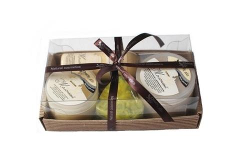 Набор подарочный №1 линия для рук Молочная (бальзам, смузи, молочко, мыло)/TM ChocoLatte