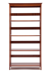 Этажерка деревянная NY-3005 — Орех (Walnut)