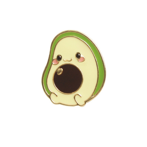 Значок, пін - Миле авокадо