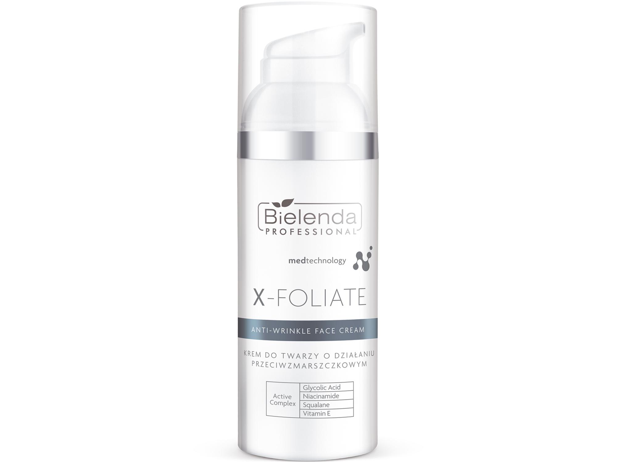 X-FOLIATE Anti Wrinkle Крем для лица с кислотами с мощным лифтинг эффектом