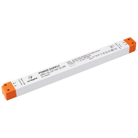 Блок питания ARV-SL24150-SLIM (24V, 6.25A, 150W, PFC) (ARL, IP20 Пластик, 3 года)