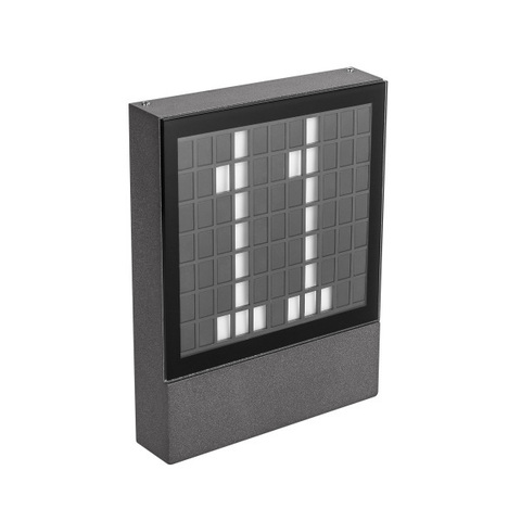 Светильник LGD-SIGN-WALL-S150x200-3W Warm3000 (GR, 148 deg, 230V) (ARL, IP54 Металл, 3 года)