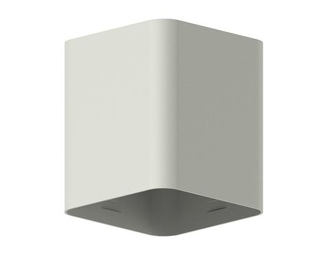 Корпус светильника накладной для насадок 70*70mm C7814 SGR серый песок 70*70*H80mm MR16 GU5.3