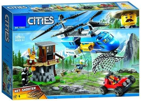 Конструктор Cities 10863 Погоня в горах