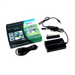 Универсальный зарядник для ноутбука, 120 Вт, с переходниками 8 шт usb, зарядка от прикуривателя