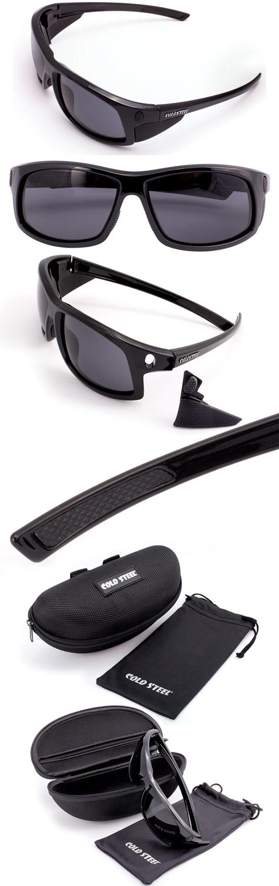 Солнцезащитные очки Cold Steel модель EW11 Gloss Black