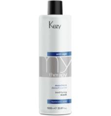 KEZY mytherapy anti-age hyaluronic acid Bodifying mask Маска для придания густоты истонченным волосам с гиалуроновой кислотой 1000 мл.