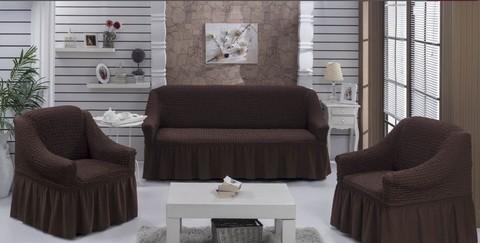 Набор чехлов на трехместный диван и два кресла Paolo