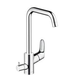 Смеситель для кухни с вентилем для посудомоечной/стиральной машины Hansgrohe Focus 31823000 фото