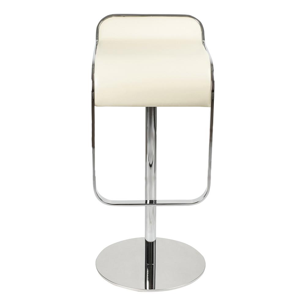 Барный стул LEM Style Piston Stool кремовая кожа - вид 2
