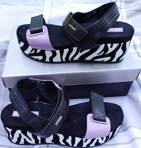 Спортивные  сандали на платформе. Красивые босоножки на липучках Richesse